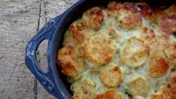 Gratin de courgettes et pommes de terre