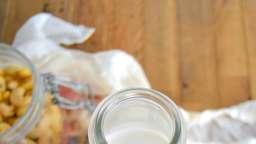 Lait de noix de cajou maison