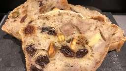 Cake tonus sans sucre ni matière grasse