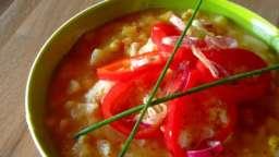 Soupe du Pérou au maïs et aux pommes de terre