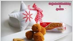 Truffes chocolat blond dulcey et spéculoos