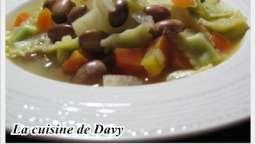 Ravioles de Royans façon minestrone