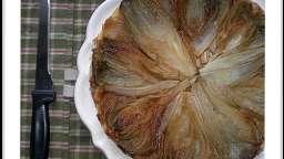 Tarte Tatin endives et oignon