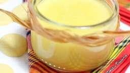 Gâteaux de semoule au chocolat blanc et fruits de la passion
