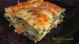 Lasagnes aux deux saumons et mascarpone