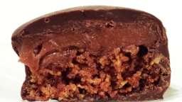 Bonbons de pain d'épices ganache cannelle enrobés de chocolat noir