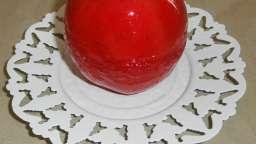 Pommes d'amour au micro-onde