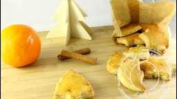 Bredeles à l'orange et à la cannelle