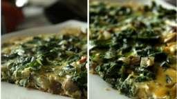 Omelette gourmande aux blettes