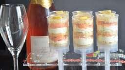 Push pops au saumon et blinis