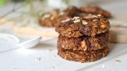 Cookies chocolat-cacahuète sans cuisson