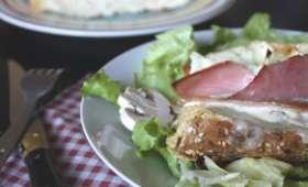 Baguette croquante au Maroilles