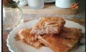 La baklava serbe , un doux parfum de noix et de miel
