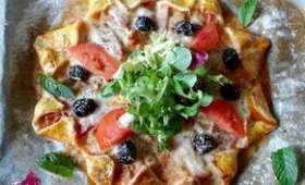 Pizza star / pizza étoile