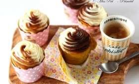 Cupcakes au potimarron et délice de châtaigne