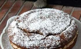 Gâteau à la Farine de Châtaigne et à la Brousse