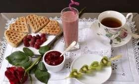 Valentine's breakfast