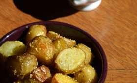 Patatas bravas à la Moutarde violette