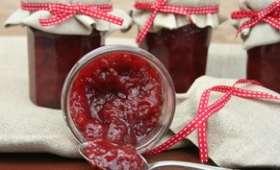Confiture de fraises bio à l'agar-agar