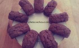 Mini brownies aux noisettes