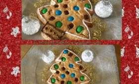 Cookies sapin de noël
