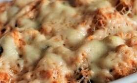 Gratin de patates douces au chorizo