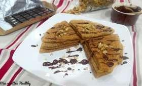 Crêpes vanille ou chocolat sans oeufs au soja