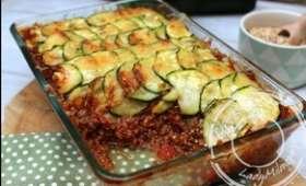 Gratin de quinoa aux courgettes, façon parmentier