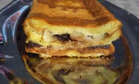 Croque cake poire chocolat
