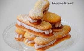 Biscuit à la cuillère parfumé à la badiane sans beurre
