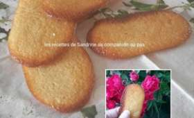 Langues de chat maison, recette facile