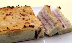 Croque cake jambon et fromage