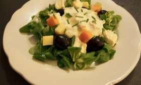 La salade fromagère