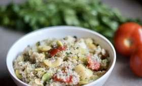 Salade de quinoa et fèves