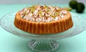 Gâteau exotique meringué à l'ananas