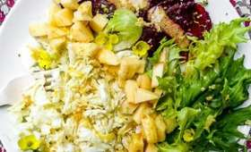 Salade detox au chou chinois