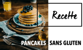 Pancakes Sans Gluten par Glutenoy.com