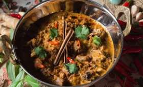 Curry moghol au mouton