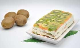 Terrine saumon kiwi fromage frais