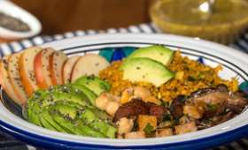 Salade santé vitaminée aux graines de chia