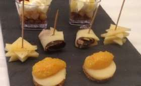 Mises en bouche gourmandes à l'Emmental de Savoie IGP