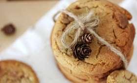 Cookies à la pralinoise et au pralin
