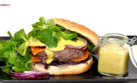Hamburger sauce Moutarde