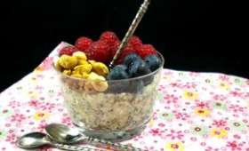 Overnight porridge ou porridge du lendemain