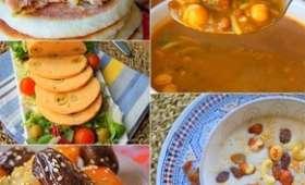Table de Ftour pour Ramadan 2018