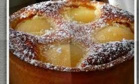 Gâteau aux poires et crème d'amandes
