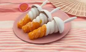 Batonnet glacé mangue coco