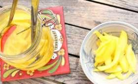 Condiment de mangues vertes
