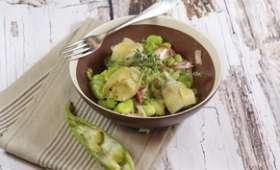 Barbouillade de fèves et artichauts