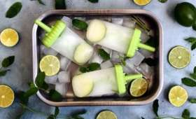 Glace mojito avec ou sans rhum